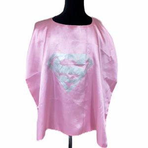 Super Cape Adult Pink Costume